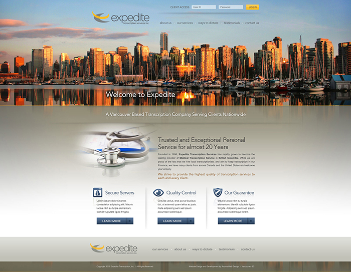 home page business edge designs